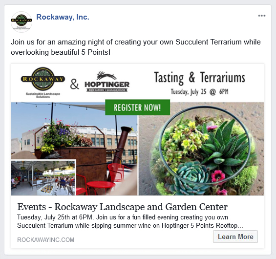Using Facebook to promote or advertise an event