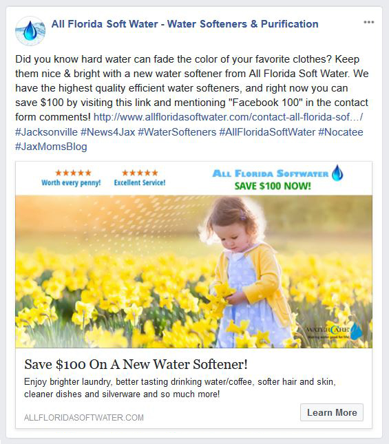 facebook advertising company Jacksonville